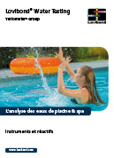 Pool analyse de l'eau catalogue