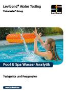 Analisi dell'acqua delle piscine & spas